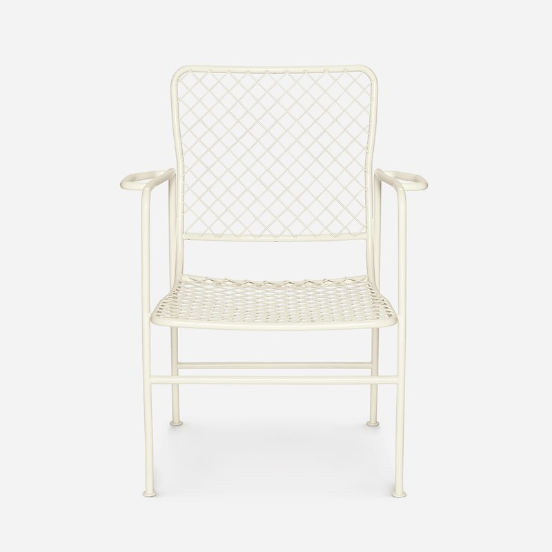 Armchair 591 - Iron, White | Svenskt Tenn