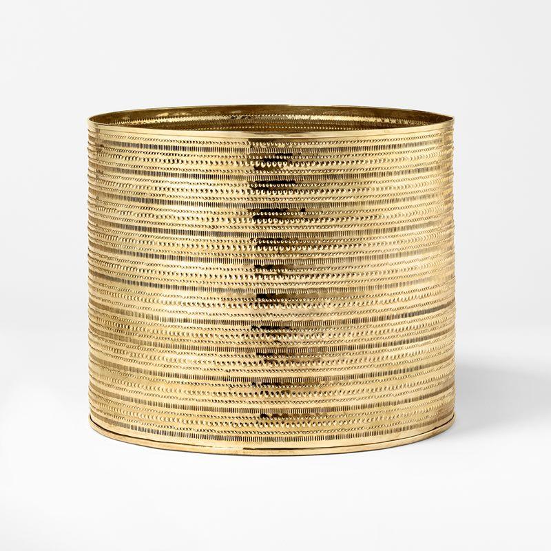 Container Garden - Diameter 30 cm, Brass | Svenskt Tenn