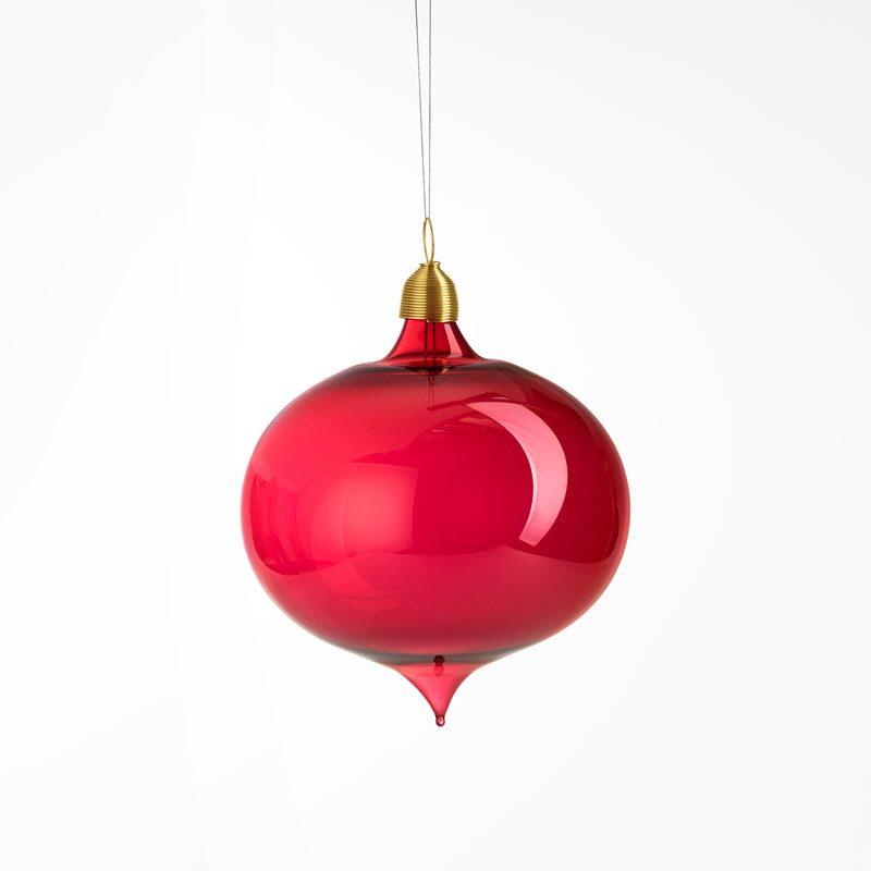 Decoration Leek Big - Red | Svenskt Tenn