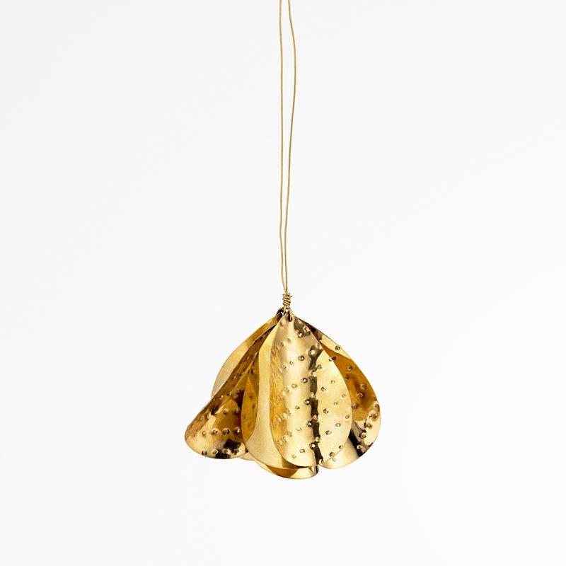 Decoration Poplar Small - Small, Brass | Svenskt Tenn