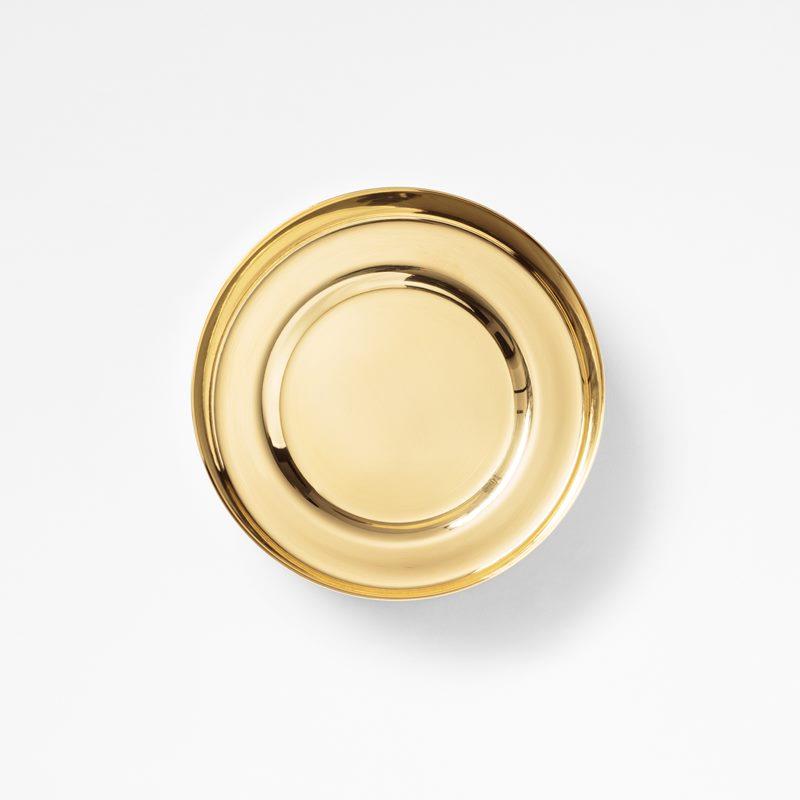 Plant Pot Saucer - 10 cm, Brass | Svenskt Tenn