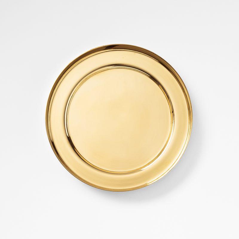 Plant Pot Saucer - 16,5 cm, Brass | Svenskt Tenn