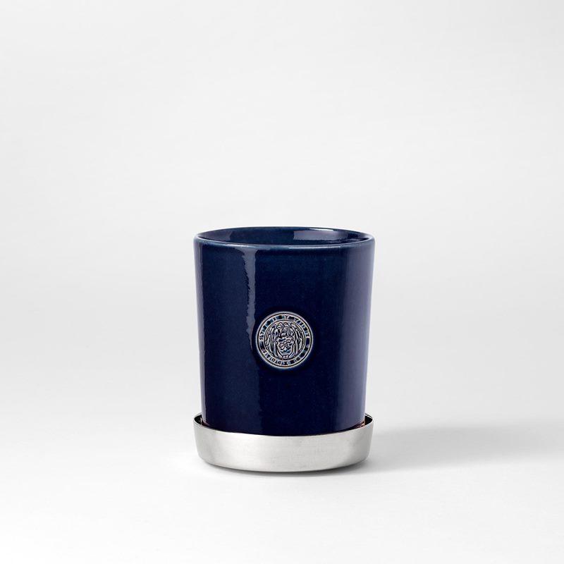 Pot Svenskt Tenn - 9,5 cm, Stoneware, Midnight blue | Svenskt Tenn