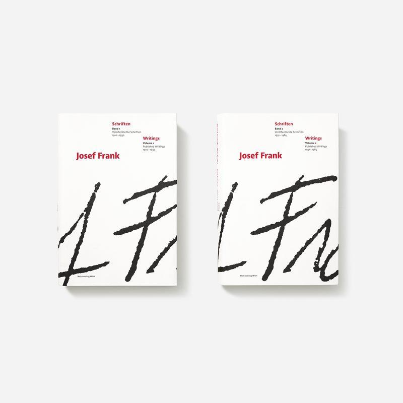Book Josef Frank Schriften | Svenskt Tenn