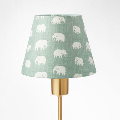 Lampshade 2444 linen elefant frost green estrid ericson svenskt tenn svenskt tenn