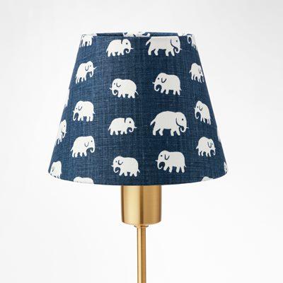Lampshade 2444 linen elefant storm blue estrid ericson svenskt tenn svenskt tenn