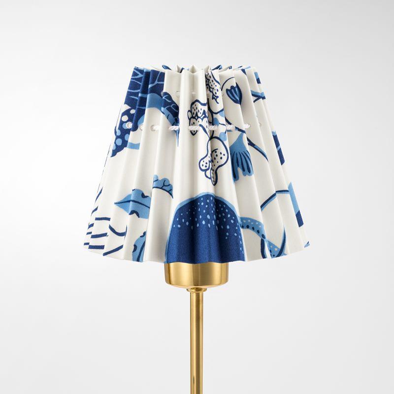 Lampskärm Plisserad - 11,5 cm, Bomull, La Plata | Svenskt Tenn