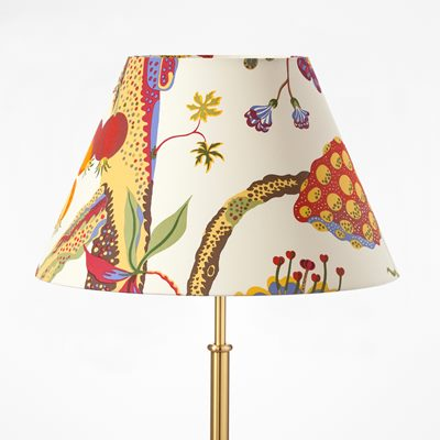 Lampshade 1257 - Cotton, Vegetable Tree, Josef Frank/Svenskt Tenn | Svenskt Tenn