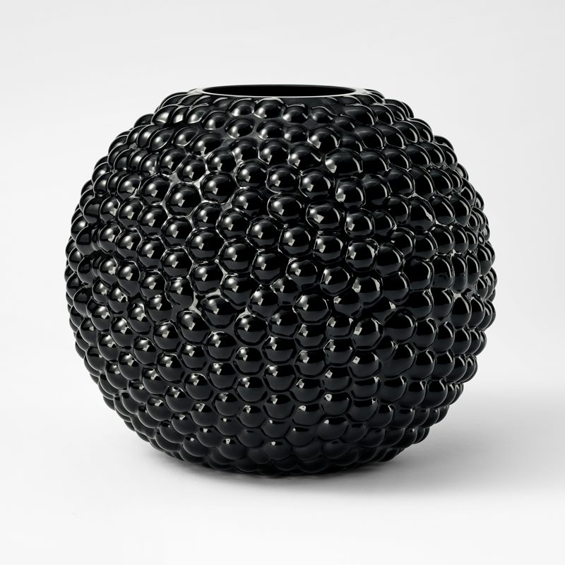 Vase Dagg - Glass, Black | Svenskt Tenn
