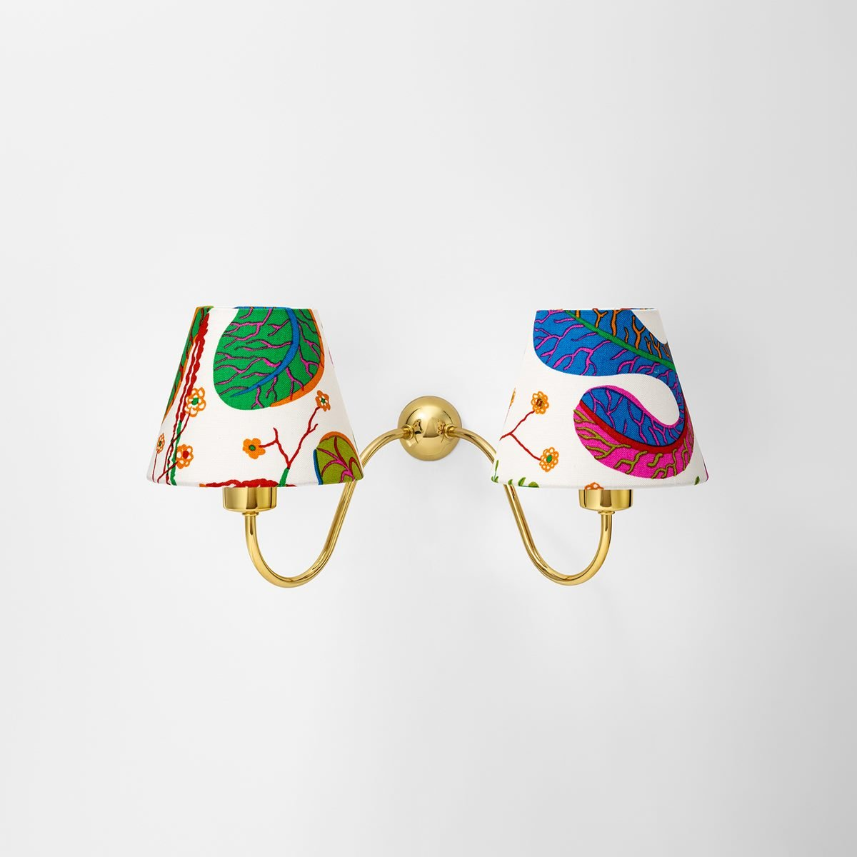 Wall Lamp 2335 - Brass, Direct Installation, Josef Frank | Svenskt Tenn