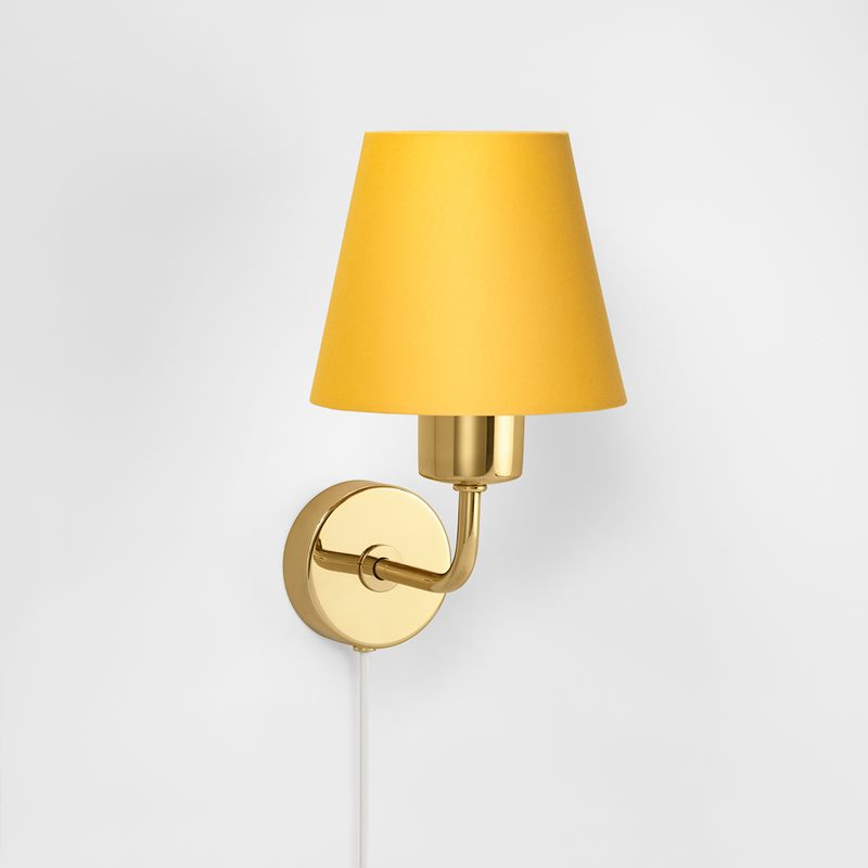 Wall Lamp 2143 - Brass, Cord | Svenskt Tenn