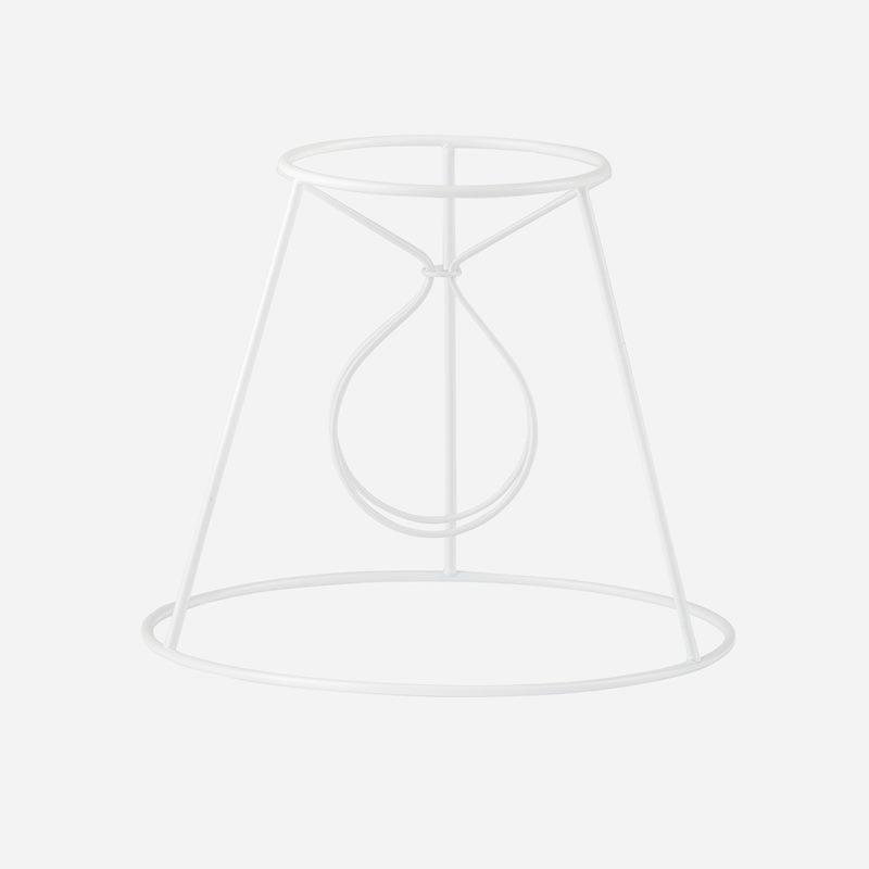 Ställning Plisserad Lampskärm - 14,5 cm, Rak klo | Svenskt Tenn