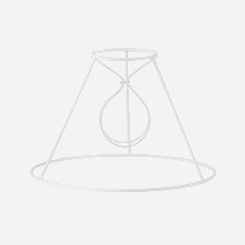 Ställning Plisserad Lampskärm - 16,5 cm, Stor klo | Svenskt Tenn