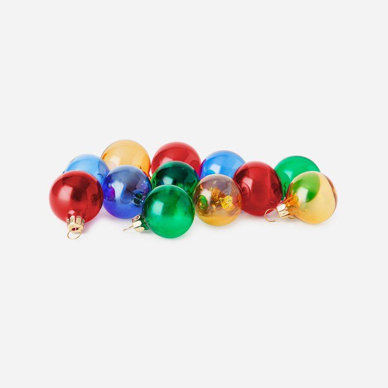 Christmas Baubles - Mixed Colours | Svenskt Tenn