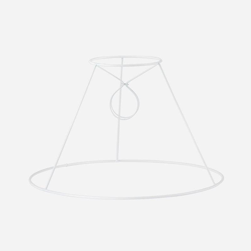 Wire frame pleated lampshade - 19 cm, Small clip | Svenskt Tenn