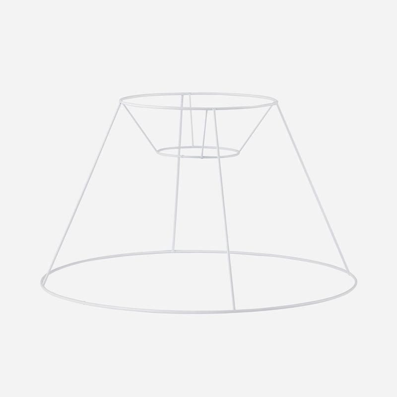 Wire frame pleated lampshade - 28 cm, Without shade carrier  | Svenskt Tenn