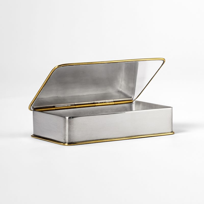 Pewter Box - Pewter and Brass | Svenskt Tenn