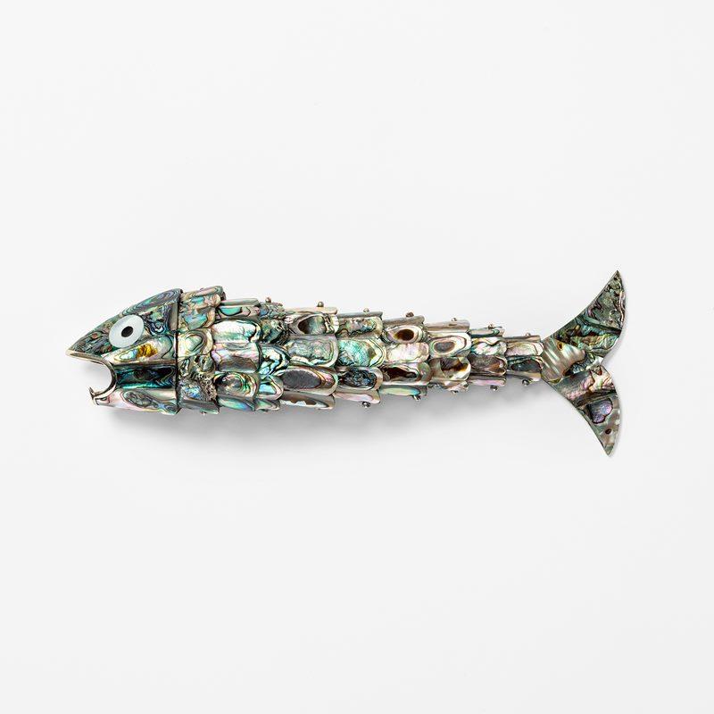 Bottle Opener Fish - Mother of Pearl | Svenskt Tenn