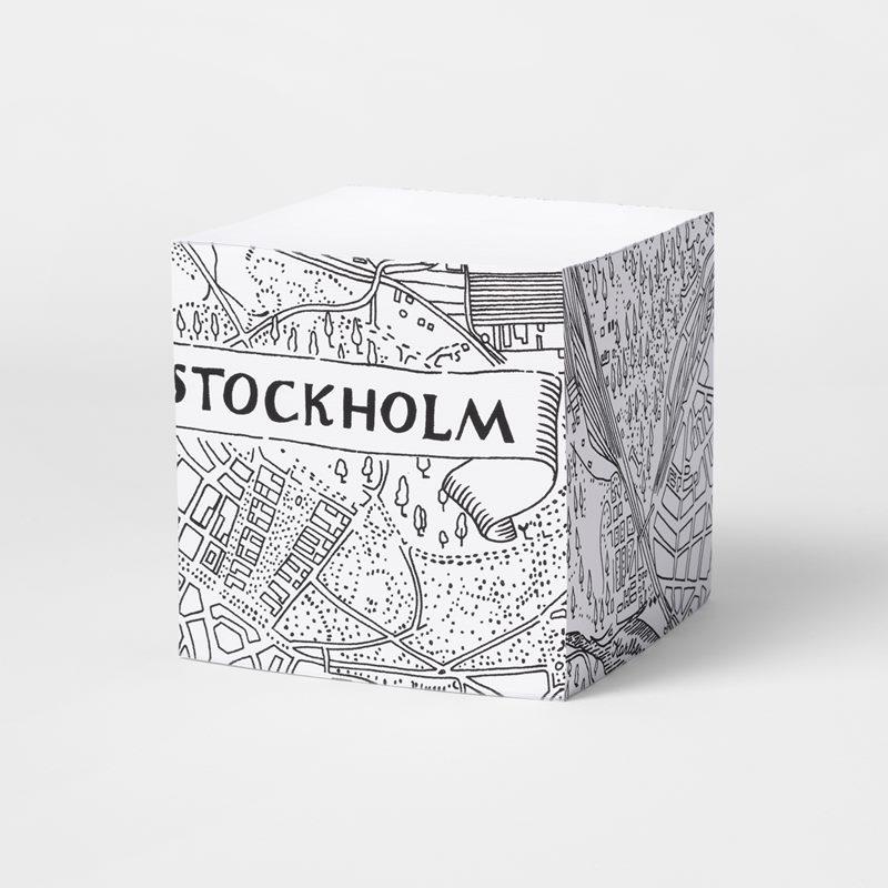 Memoblock Stockholmskartan - Stockholmskartan | Svenskt Tenn