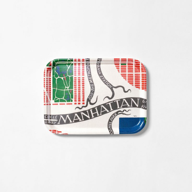 Bricka Manhattan - 27x20 cm, Manhattan, Rektangulär | Svenskt Tenn