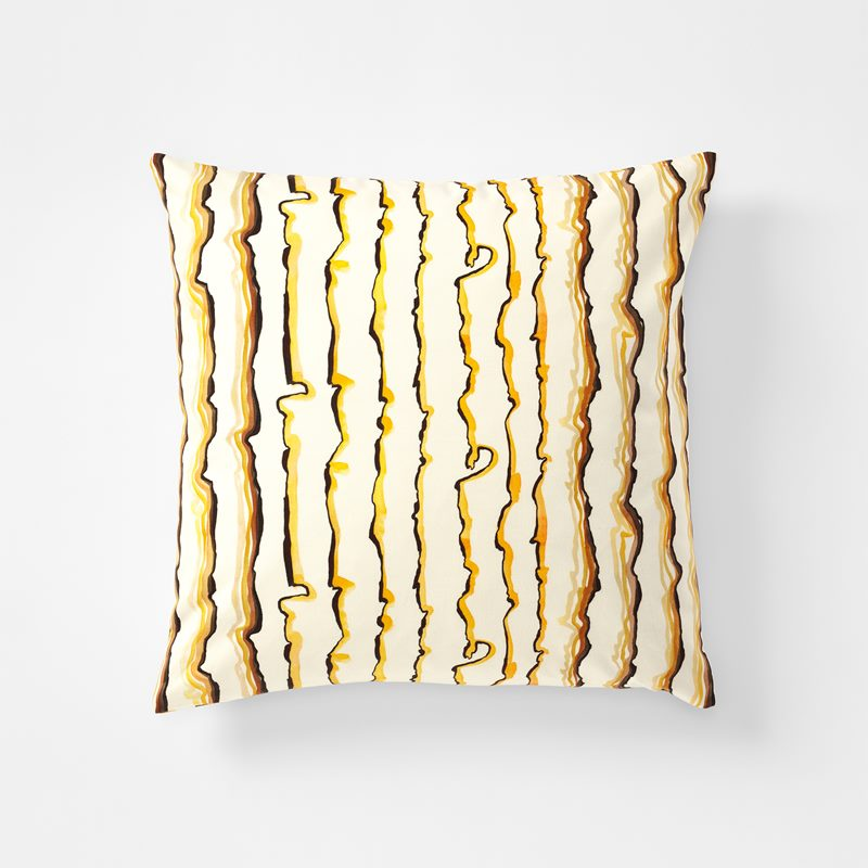 Cushion Lemon - 50x50 cm, Cotton Canvas, Lemon | Svenskt Tenn