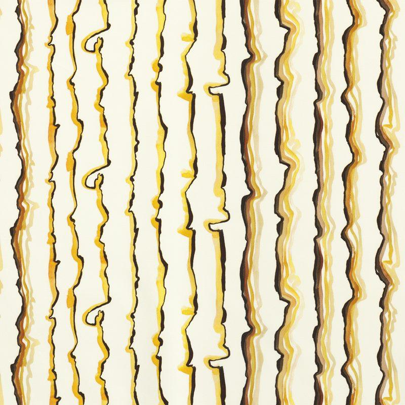 Fabric Sample Lemon - Cotton Canvas, Lemon | Svenskt Tenn