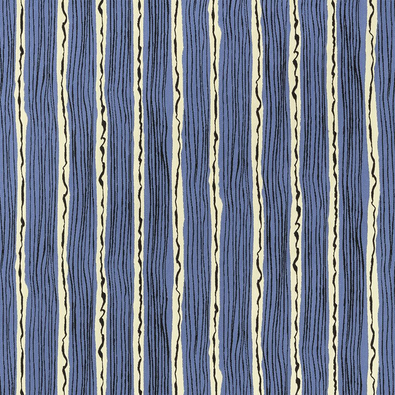 Fabric Sample Tramonto Marina - Polyester Viscose, Tramonto, Marina | Svenskt Tenn