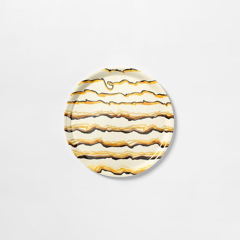 Tray Lemon - 31 cm, Lemon, Round | Svenskt Tenn