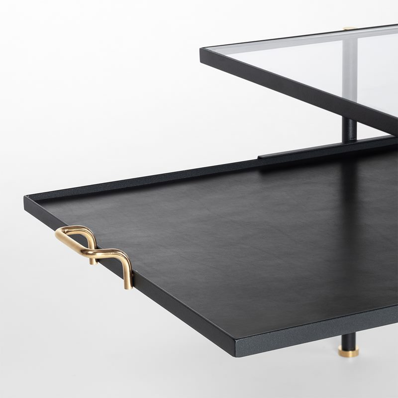 Accessories Table Nizza - Skin, Black | Svenskt Tenn