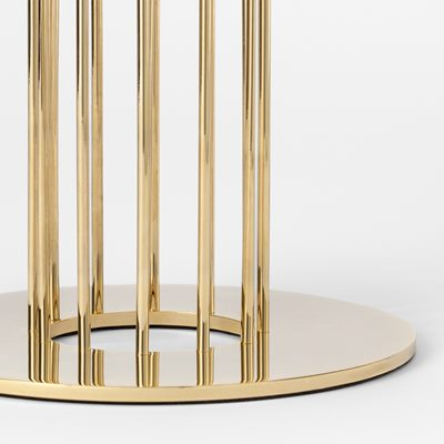 Table Lamp Flight - Brass, Michael Anastassiades | Svenskt Tenn