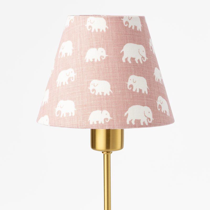 Lampshade 2332 - Linen, Elefant, Light Pink | Svenskt Tenn