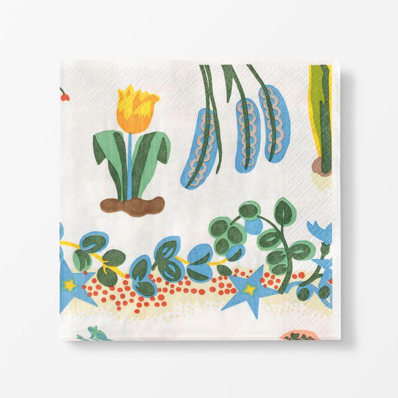 Papernapkins Primavera - 20x20 cm, Paper, Primavera | Svenskt Tenn