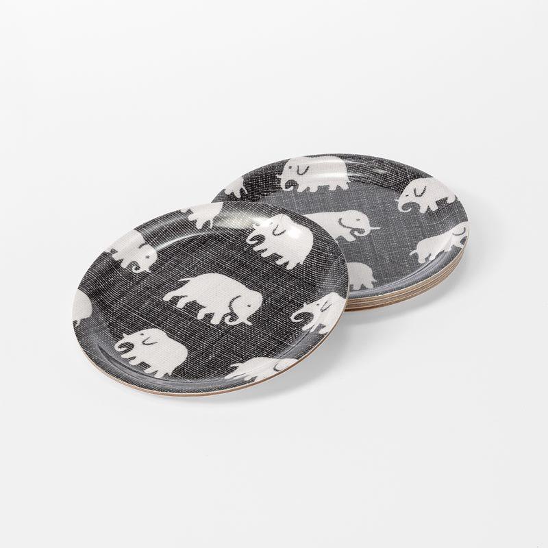 Coaster Elefant - Elefant, Grey | Svenskt Tenn
