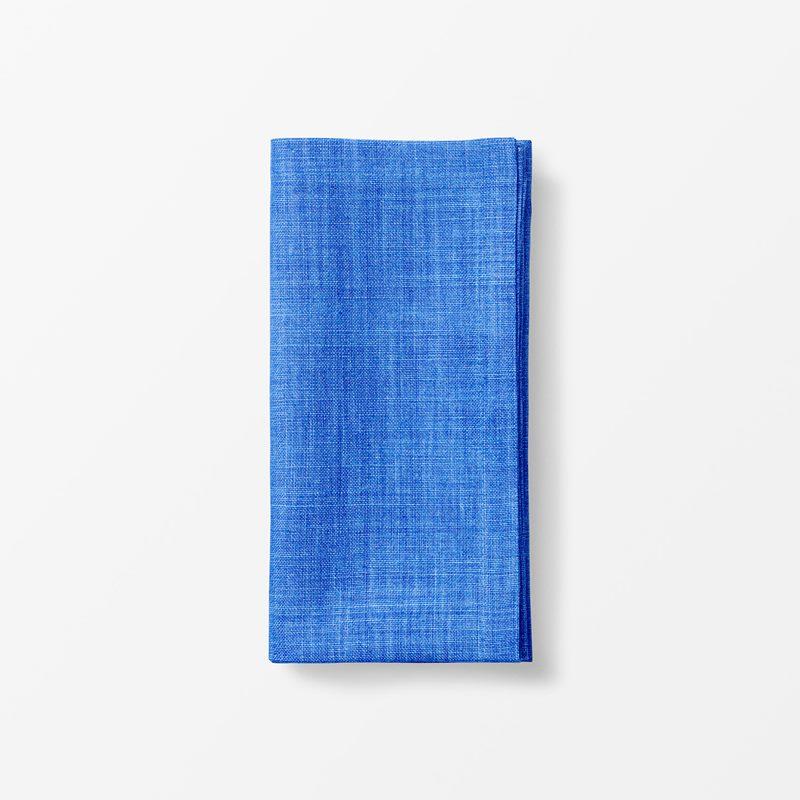 Napkin Svenskt Tenn Linen - 50x50 cm, Linen, Blue | Svenskt Tenn