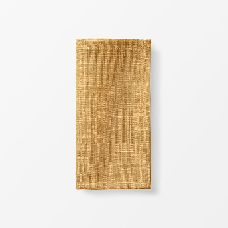 Napkin Svenskt Tenn Linen - 50x50 cm, Linen, Amber | Svenskt Tenn