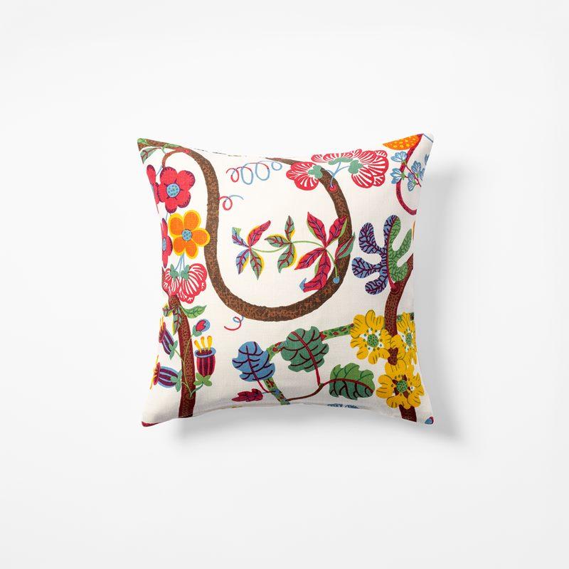 Cushion Baranquilla - 40x40 cm, Linen, Baranquilla, White | Svenskt Tenn