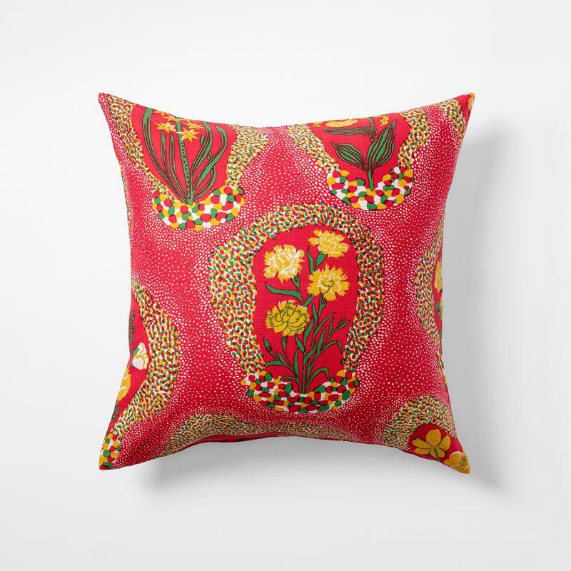 Cushion Catleya - 50x50 cm, Linen, Catleya | Svenskt Tenn