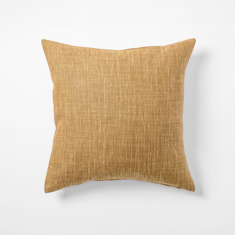 Cushion Svenskt Tenn Linen - 50x50 cm, Linen, Amber | Svenskt Tenn