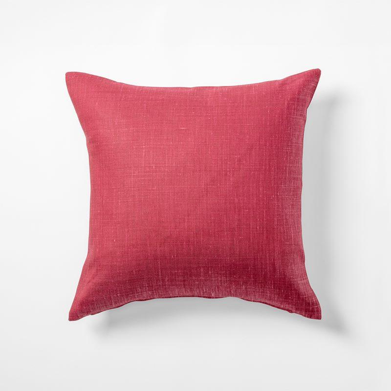Cushion Svenskt Tenn Linen - 50x50 cm, Linen, Dark Pink | Svenskt Tenn