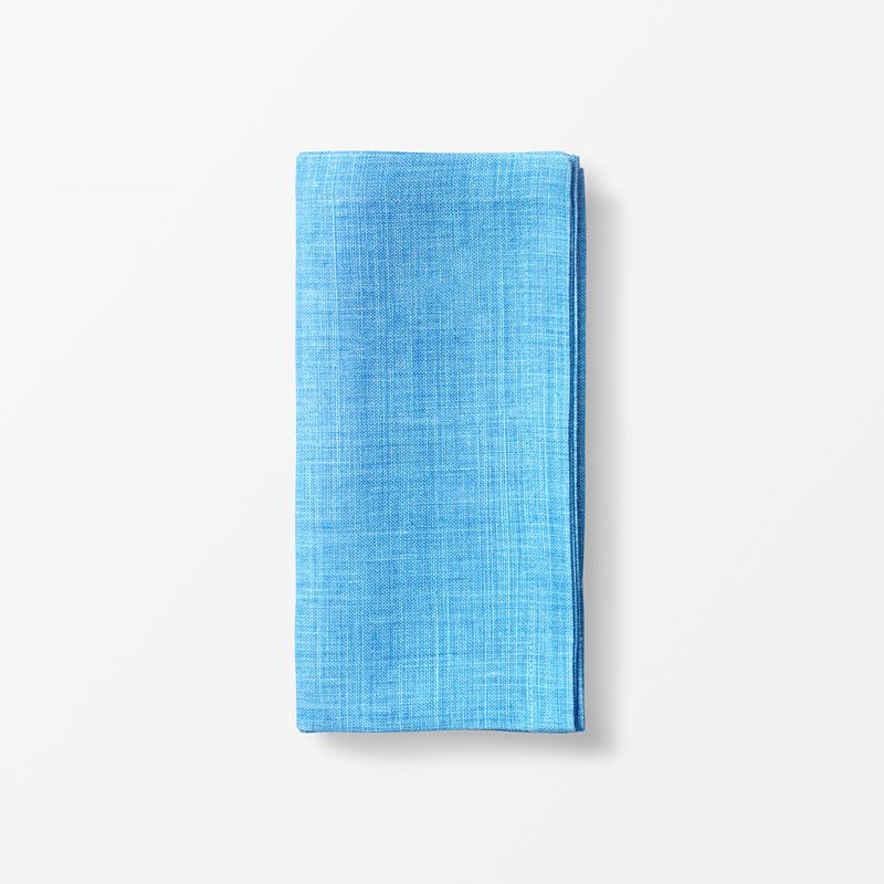 Napkin Svenskt Tenn Linen - 50x50 cm, Linen, Light Blue | Svenskt Tenn