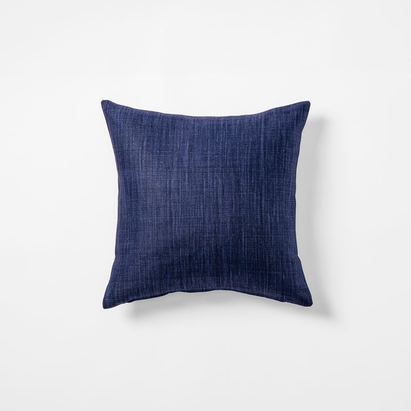 Cushion Svenskt Tenn Linen - 40x40 cm, Linen, Marine | Svenskt Tenn