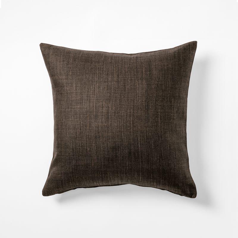 Kudde Svenskt Tenn Lin - 50x50 cm, Lin, Moccabrun | Svenskt Tenn