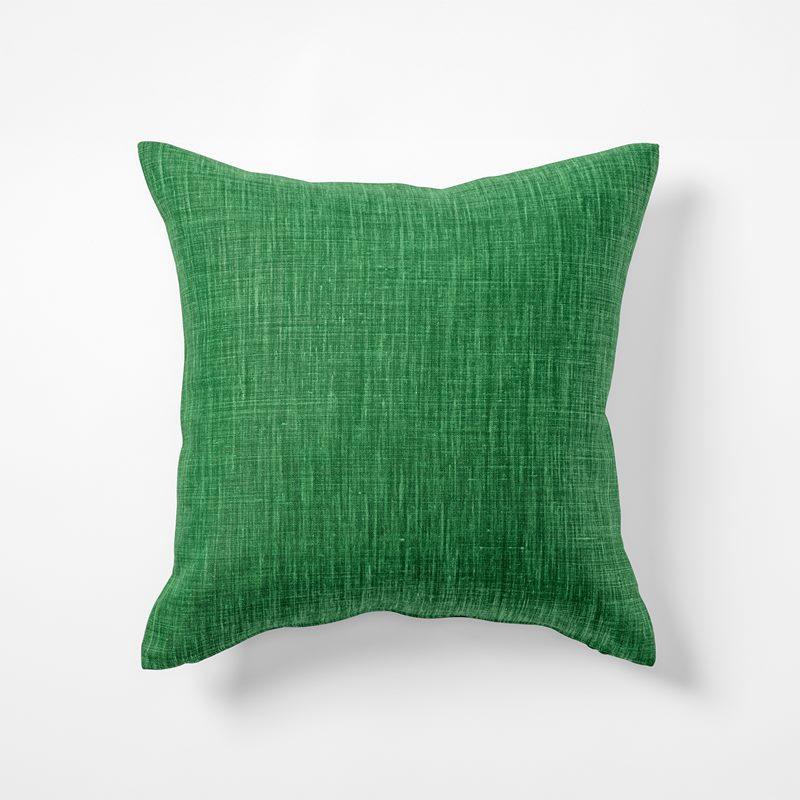 Cushion Svenskt Tenn Linen - 50x50 cm, Linen, Dark Green | Svenskt Tenn