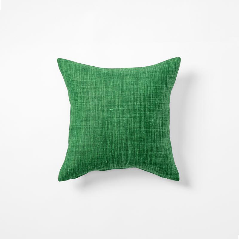 Cushion Svenskt Tenn Linen - 40x40 cm, Linen, Dark Green | Svenskt Tenn
