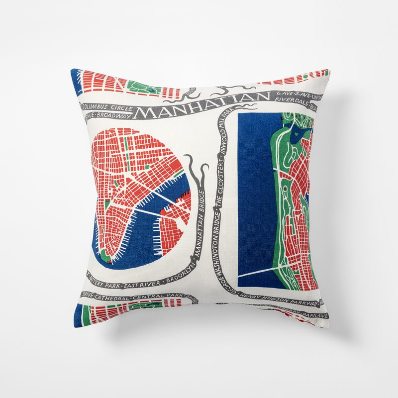 Cushion Manhattan - 50x50 cm, Linen, Manhattan | Svenskt Tenn