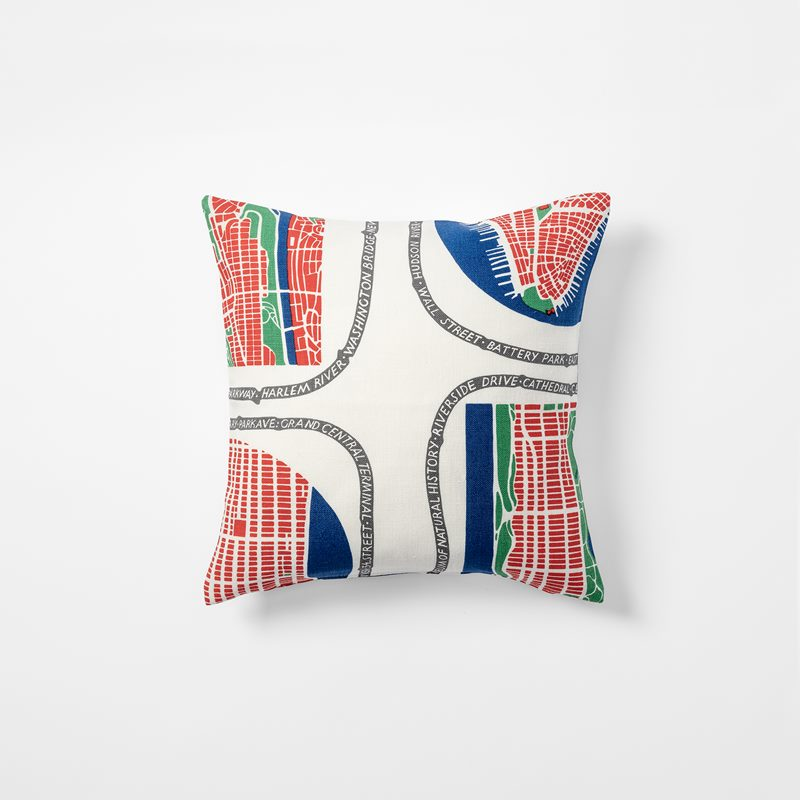 Cushion Manhattan - 40x40 cm, Linen, Manhattan | Svenskt Tenn