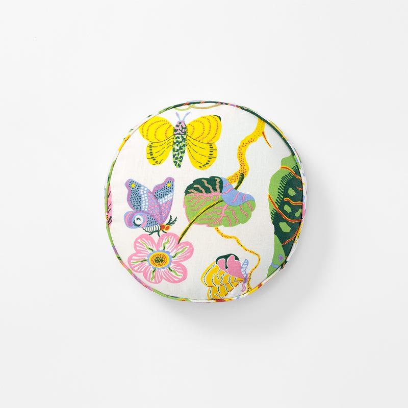 Cushion Round - 40 cm, Linen, Hawai | Svenskt Tenn