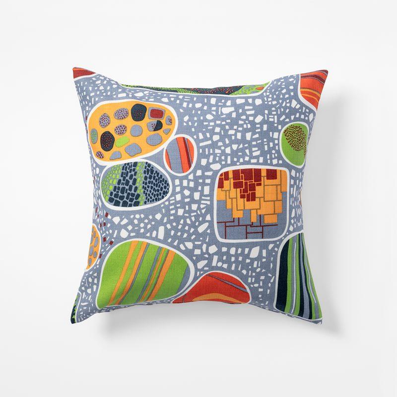 Cushion Terrazzo - 50x50 cm, Linen, Terrazzo | Svenskt Tenn