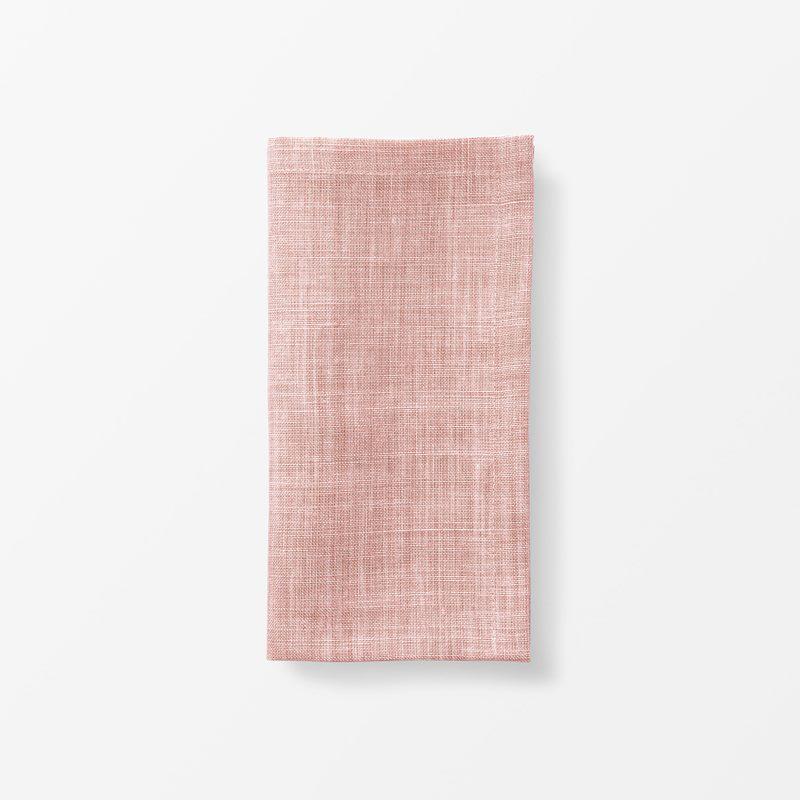 Napkin Svenskt Tenn Linen - 50x50 cm, Linen, Peach | Svenskt Tenn