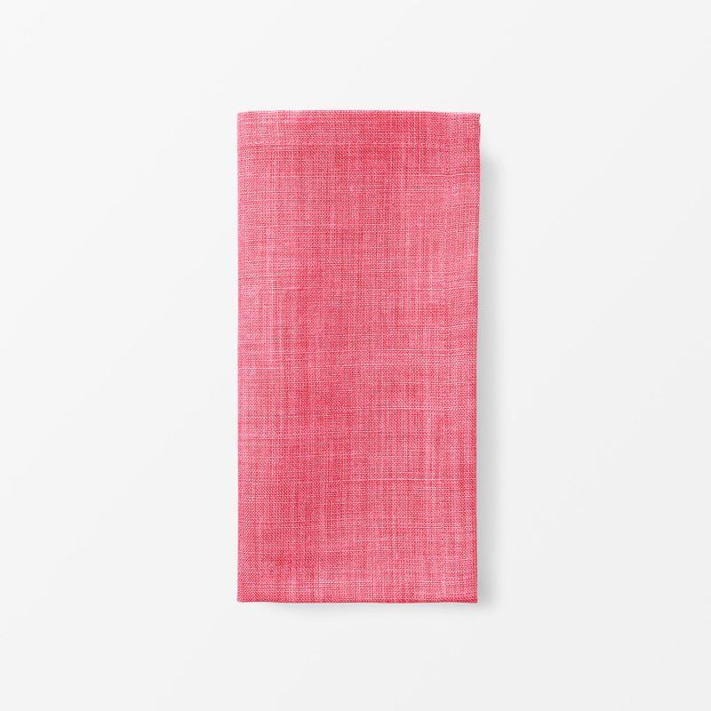Napkin Svenskt Tenn Linen - 50x50 cm, Linen, Pink | Svenskt Tenn